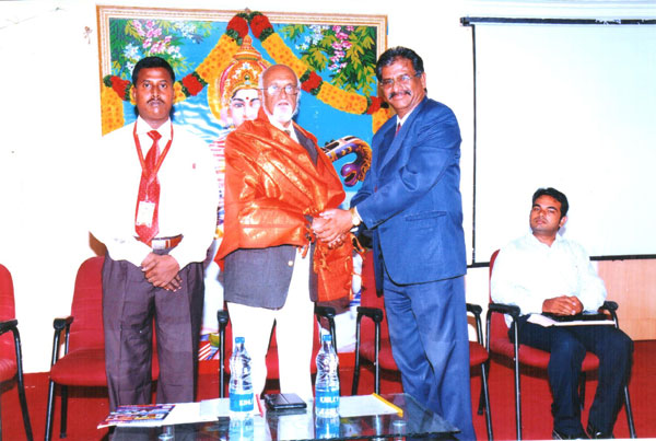 Expert Lecture on 'Creative Intelligence', by Mr.S.Ramalingam, National President, Energy Association of India, organised by Dept of Management Studies on 28 Feb 2013