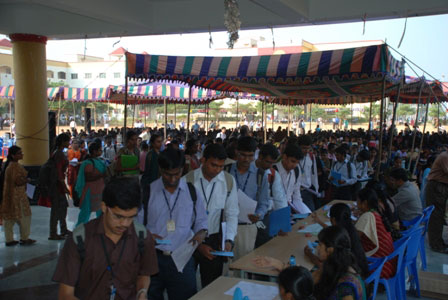 Tamil Nadu State Level Placement Programme on 27 & 28 December 2012
