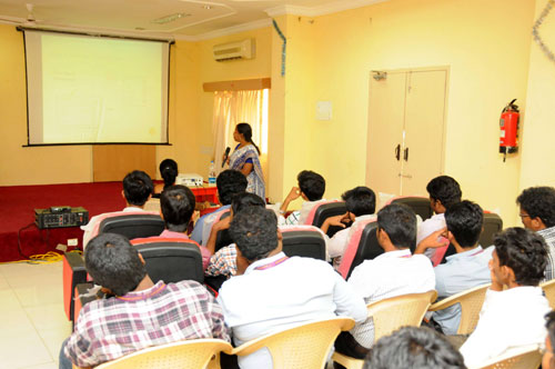 Expert Lecture on 'VLSI Design' by Dr.Kamala, Organised by Dept of ECE, on 21 Feb 2014