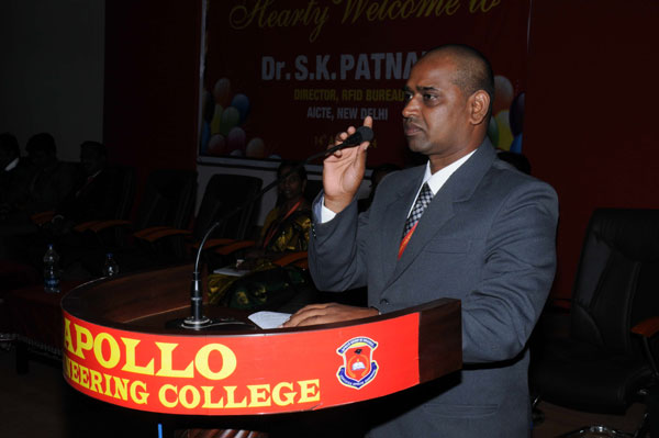 First Year Inauguration 2014, by Dr.SK. Patnaik, Director, RIFD Bureau, AICTE, New Delhi on 14 August 2014