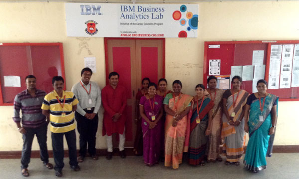 'Cognos BI Administration' Phase 2 FDP of IBM training for CSE & IT faculties. IBM trainer Mr.Praveen Joshi, greatly appreciated the enthusiasm of the faculties during the workshop sessions, on 27 - 30 Nov 2014