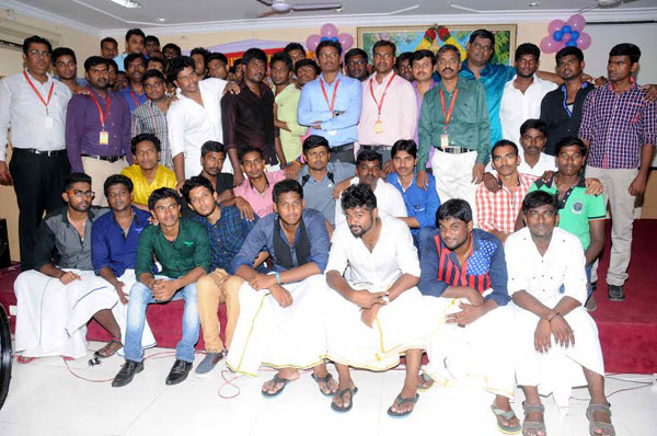 Dept of  EEE  Farewell - 2015