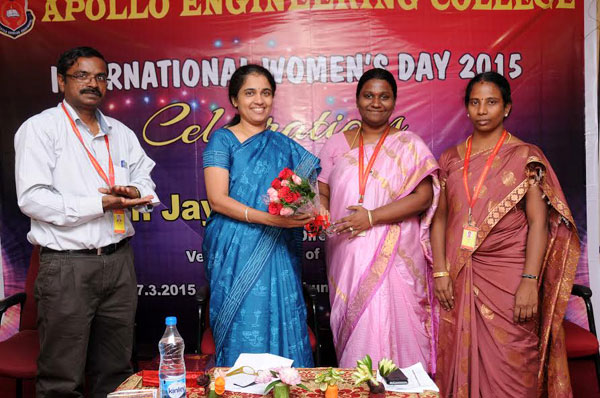 International Women's Day Celebration, on 06 - 07 Mar 2015